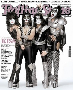 Kiss Rolling Stone