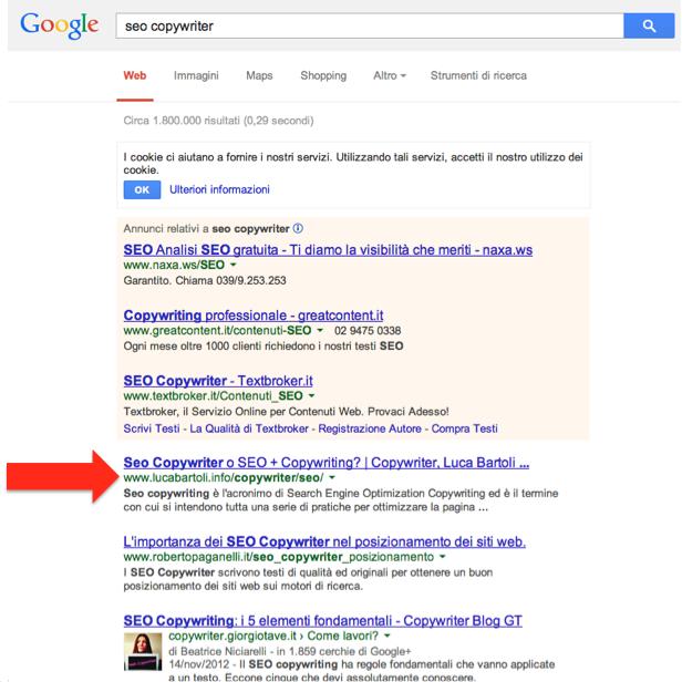 seo copywriter google