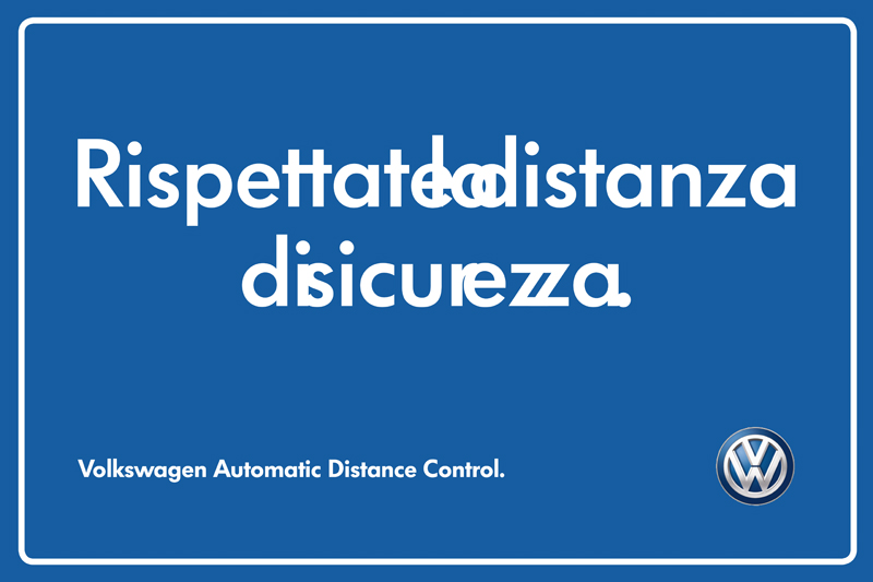 Volkswagen Distanza di Sicurezza