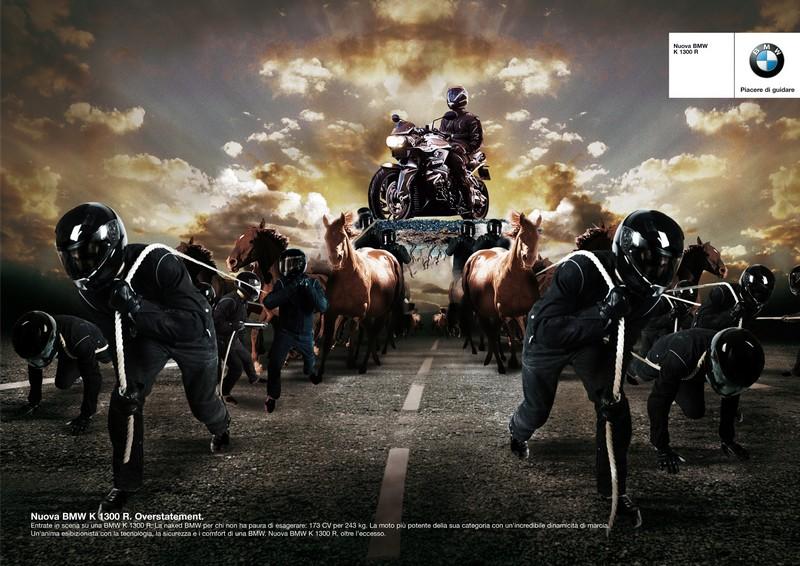 copywriter pubblicità bmw motorrad