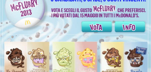 "McFlurry | ""Le Primarie del gusto"""