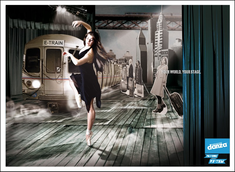 pubblicità copy witer dimensione danza
