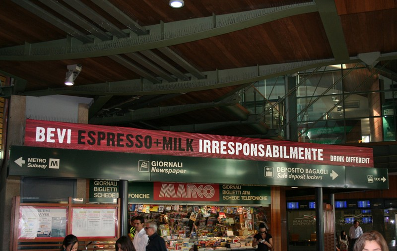 espresso + milk stazione cadorna