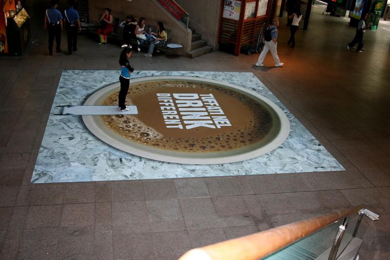 floor sticker stazione cadorna