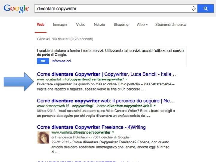 diventare copywriter