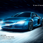 Audi R8LMX automotive copywriter