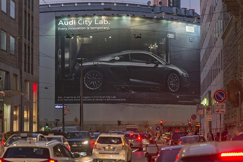 migliori pubblicità audi city lab