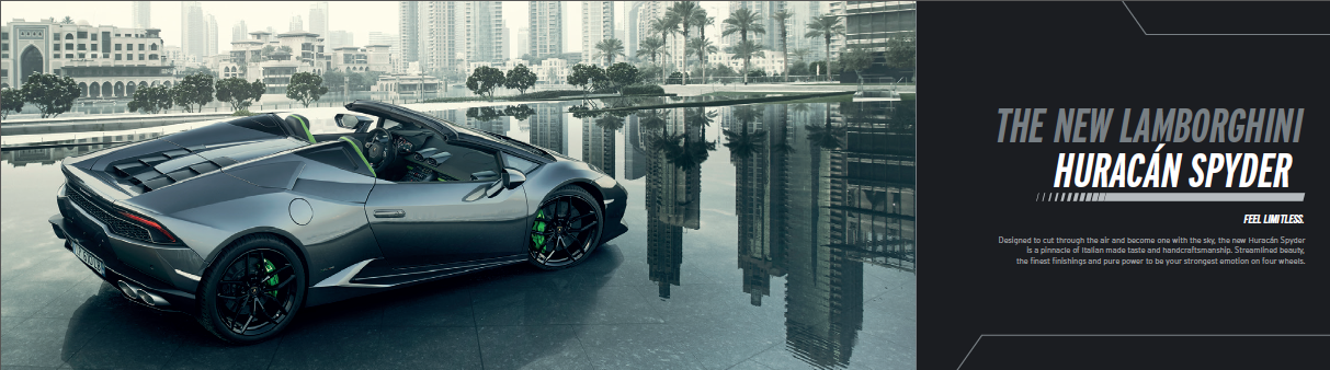 Nuova Lamborghini Huracan