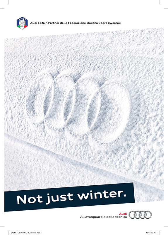 Audi Not just winter