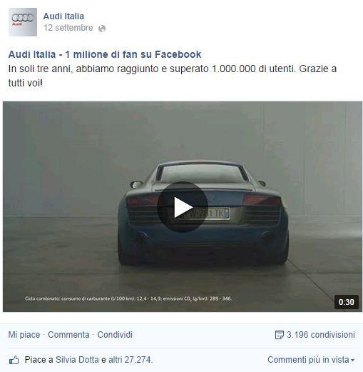facebook audi italia