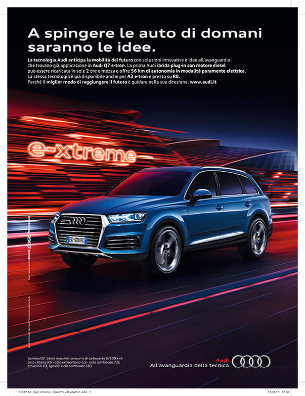 copy write audi e-tron