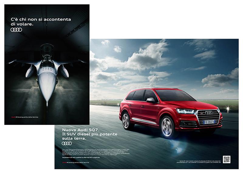 pubblicita Audi SQ7
