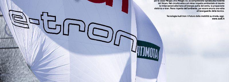 pubblicità Audi tron Sailing Series automotive copywriter