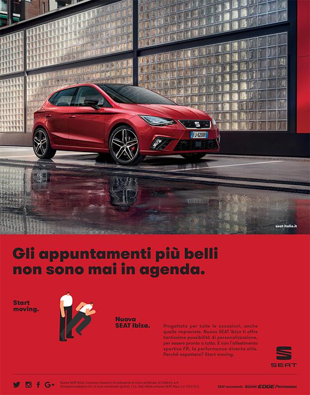 seat ibiza pubblicit seat automotive copywriter luca bartoli. Black Bedroom Furniture Sets. Home Design Ideas