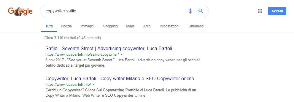 seo copywriter safilo
