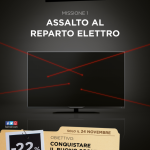 Assalto reparto elettro Black Friday copywriter Operazione Black Days