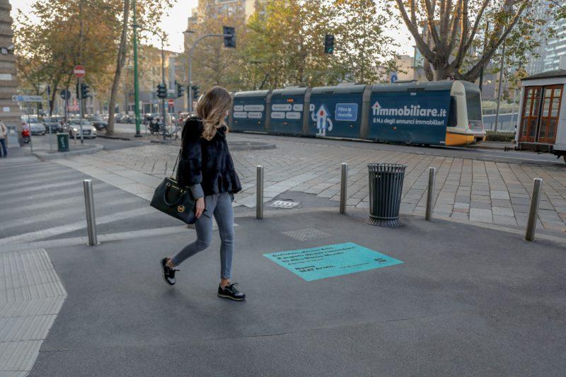 floor sticker centro milano