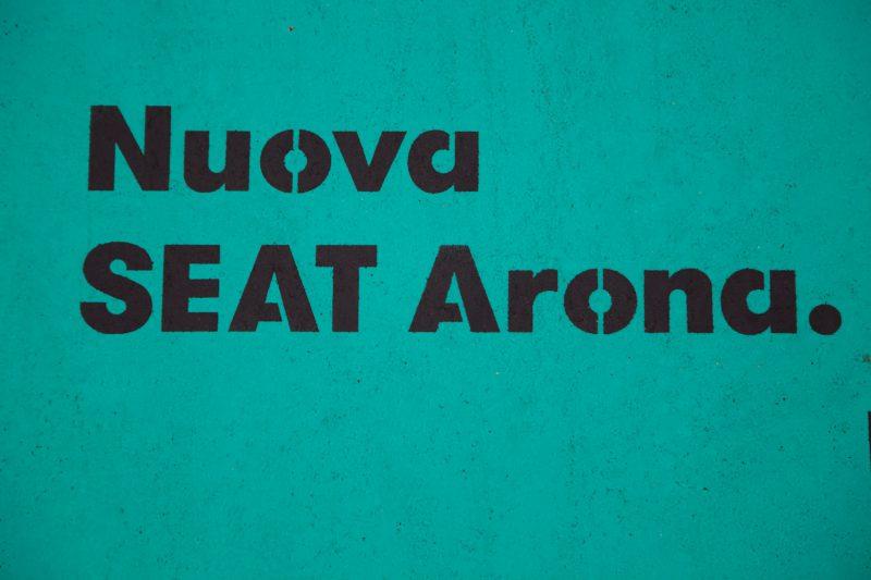 nuova seat arona pubblicità