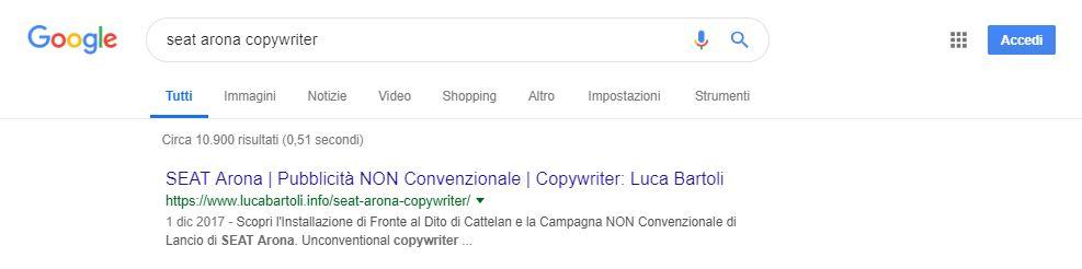 seo seat arona copywriter