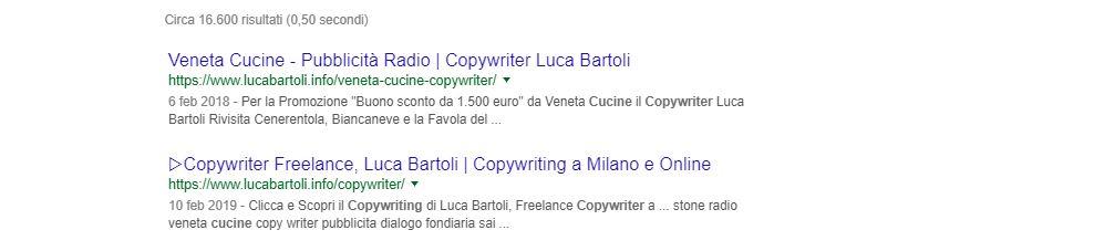 cucine copywriter