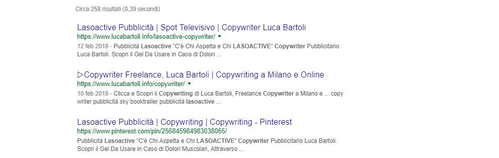 seo copywriter lasoactive