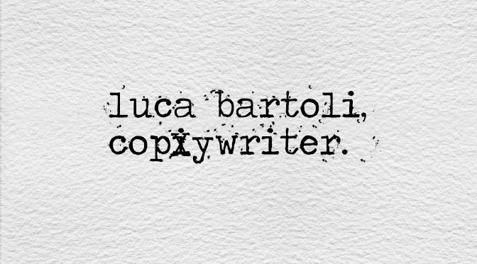 copywriter pubblicità