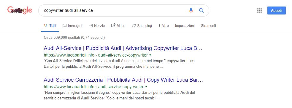 seo copywriter audi all service