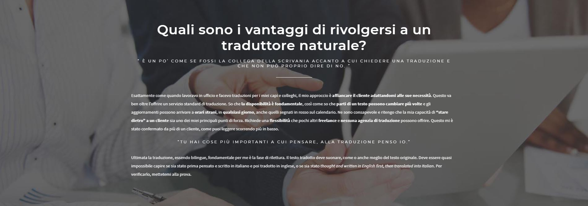 traduzioni italiano inglese