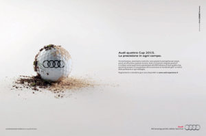 pubblicità audi golf