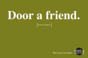 pubblicità inglese maccheronico