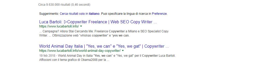 seo yes we can copywriter