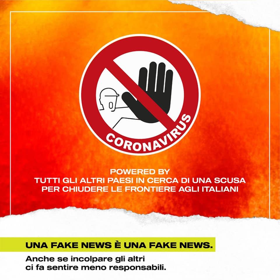 corona virus italiani respinti alla frontiera