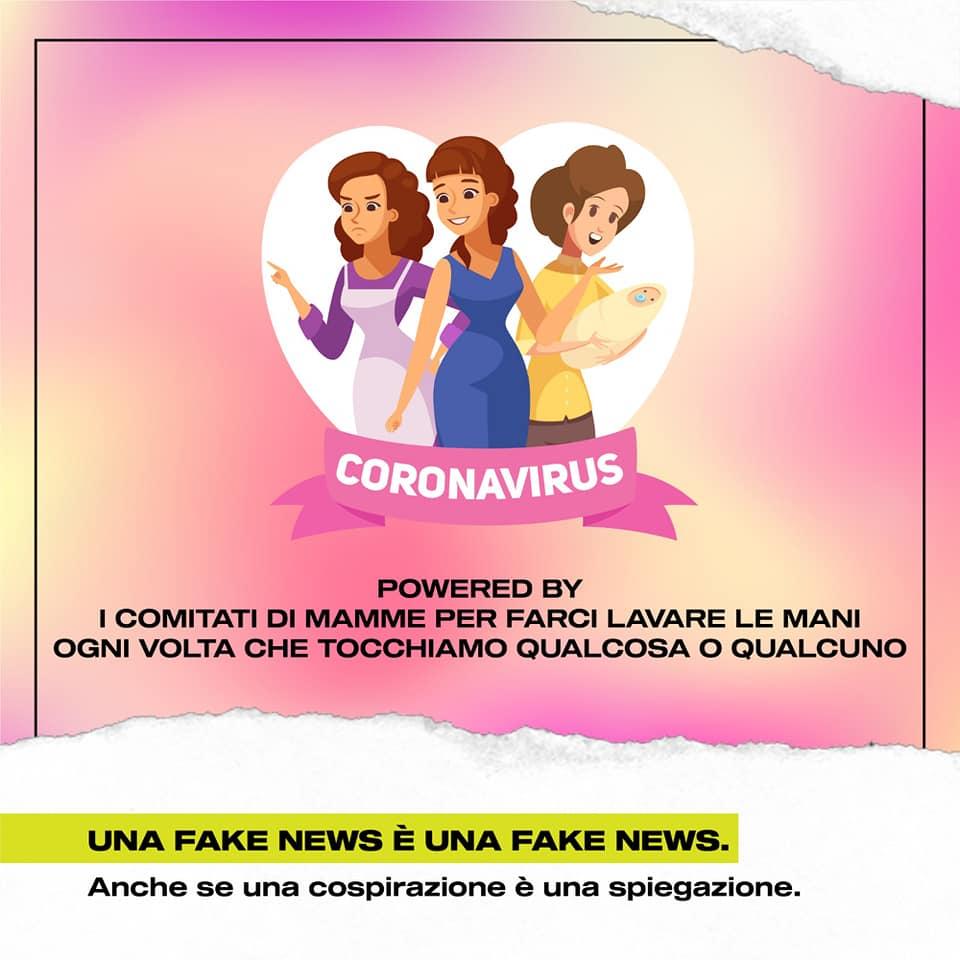 corona virus lavarsi le mani