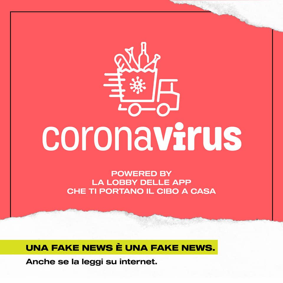 chi c è dietro il coronavirus app food delivery cibo a casa