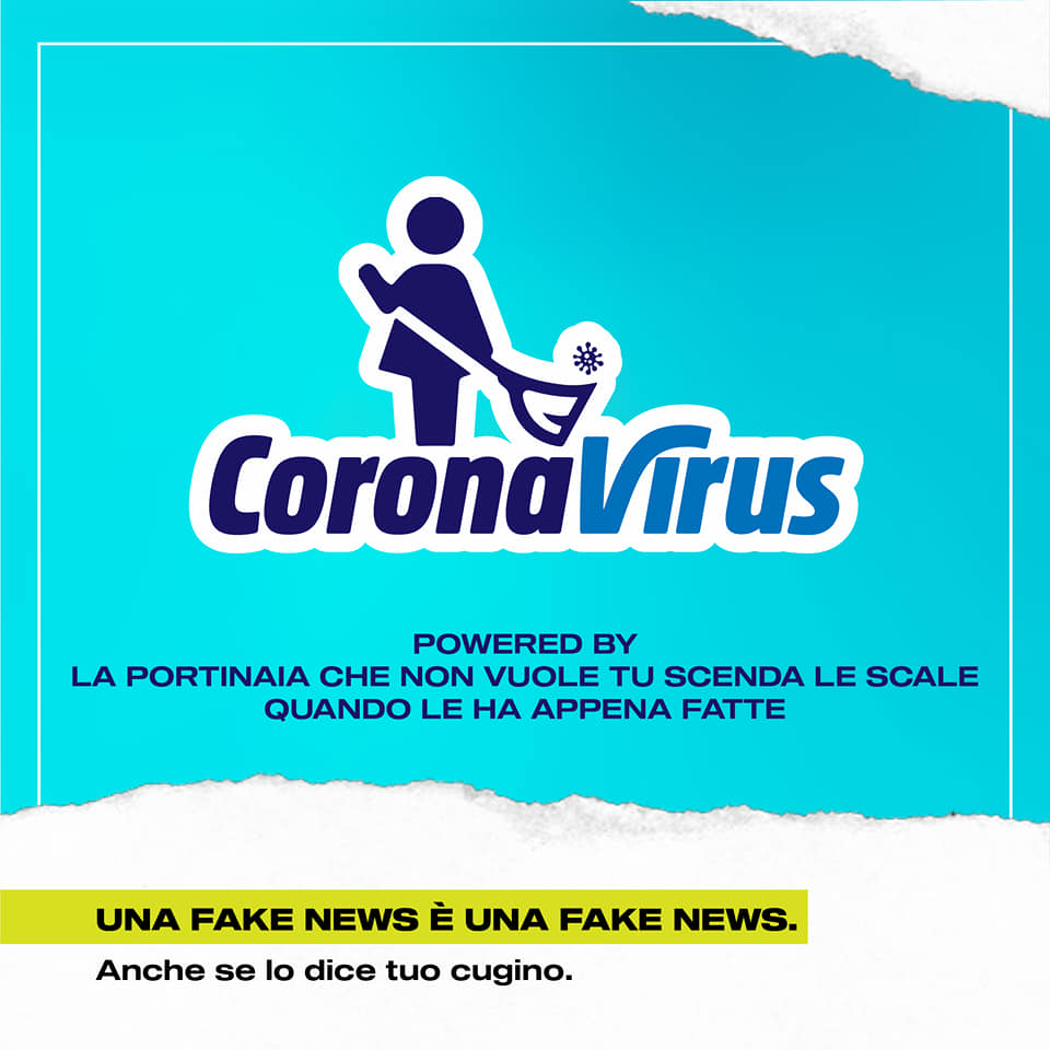 corona virus powered by la portinaia
