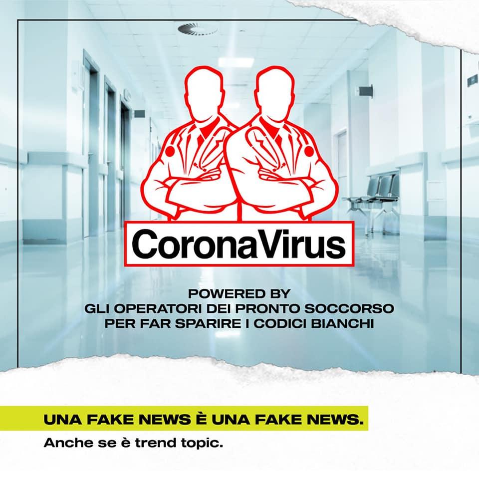 corona virus pronto soccorso vuoto
