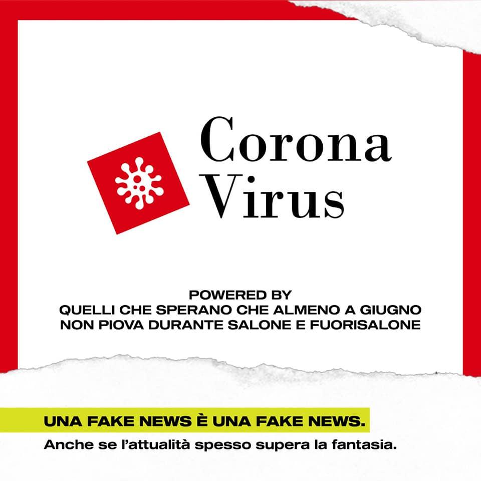 corona virus salone del mobile fuorisalone milano