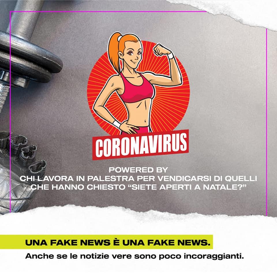 palestre chiuse per coronavirus